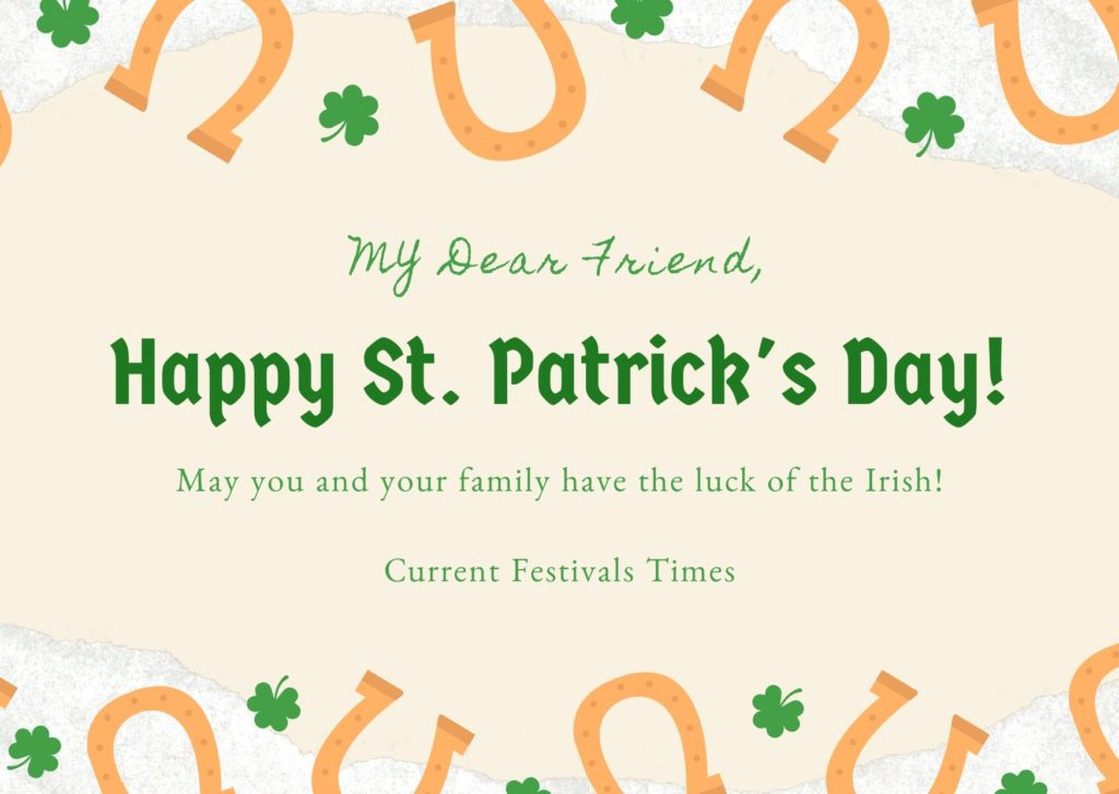 st patrick's day wishes 2020