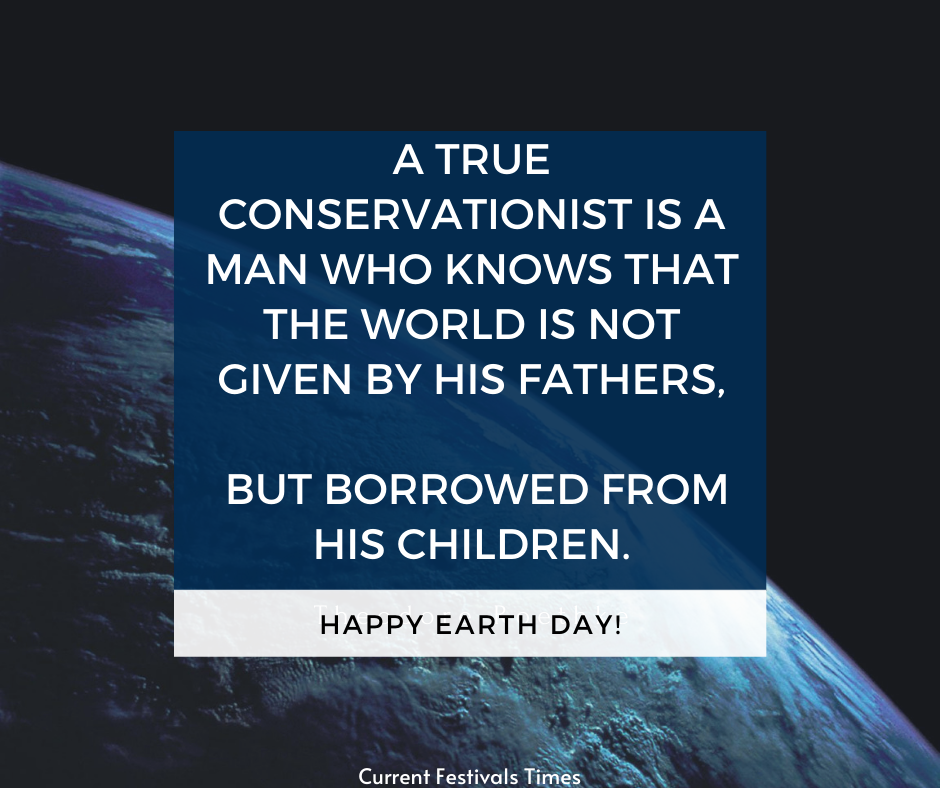 slogans on earth day in english