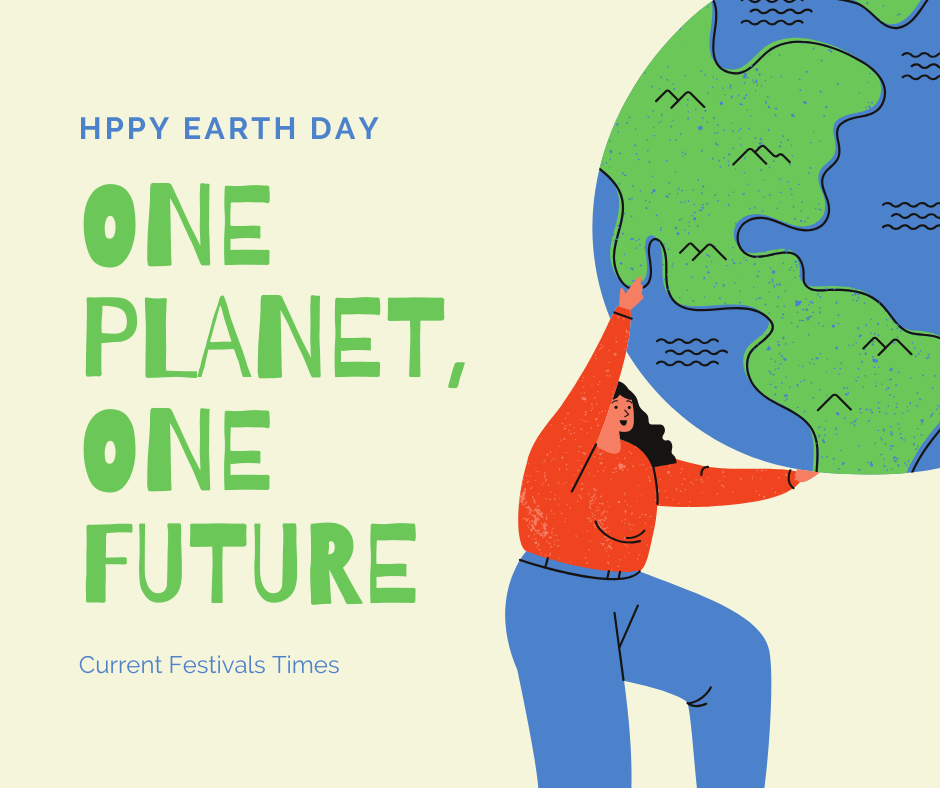 the earth day poster