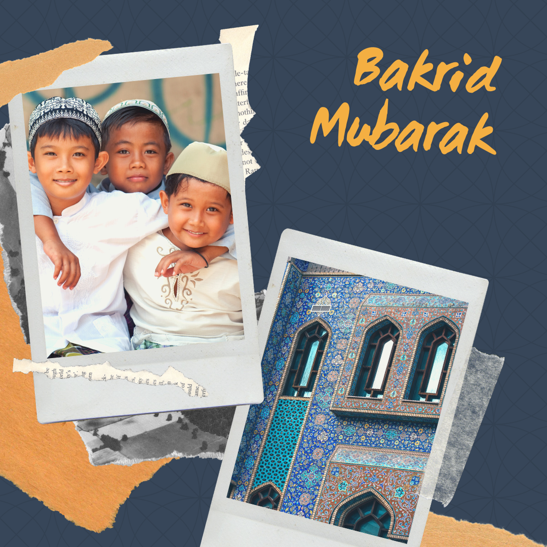Bakrid wishes for Friends