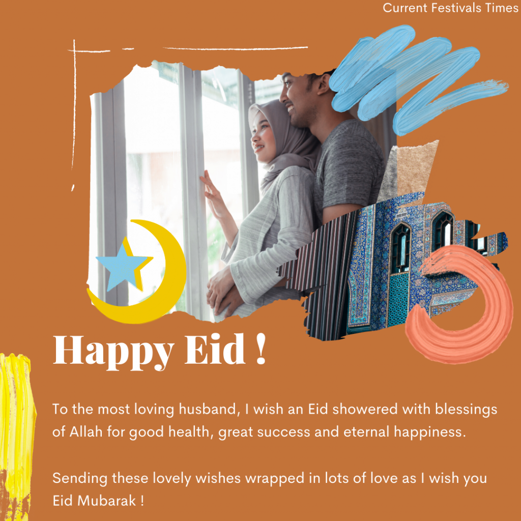Bakrid wishes for husband