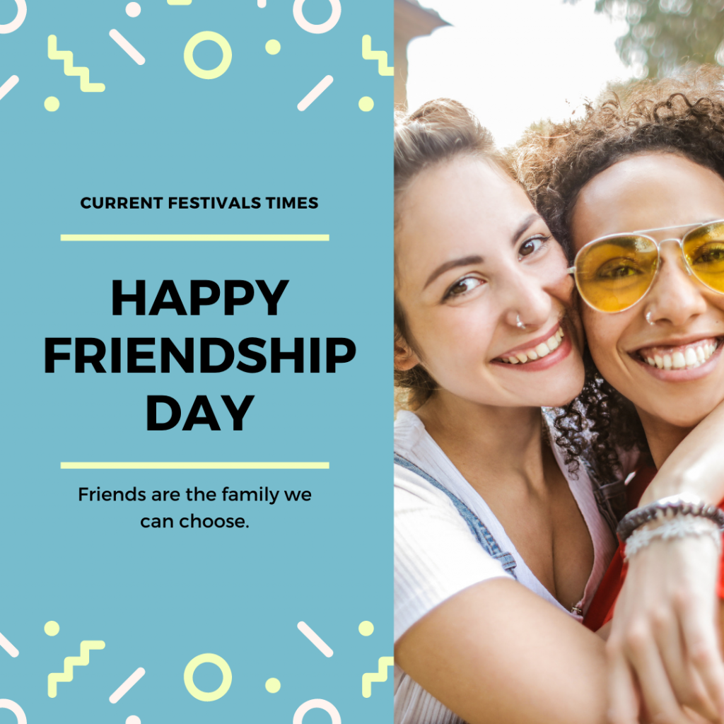 Friendship day lines with Images