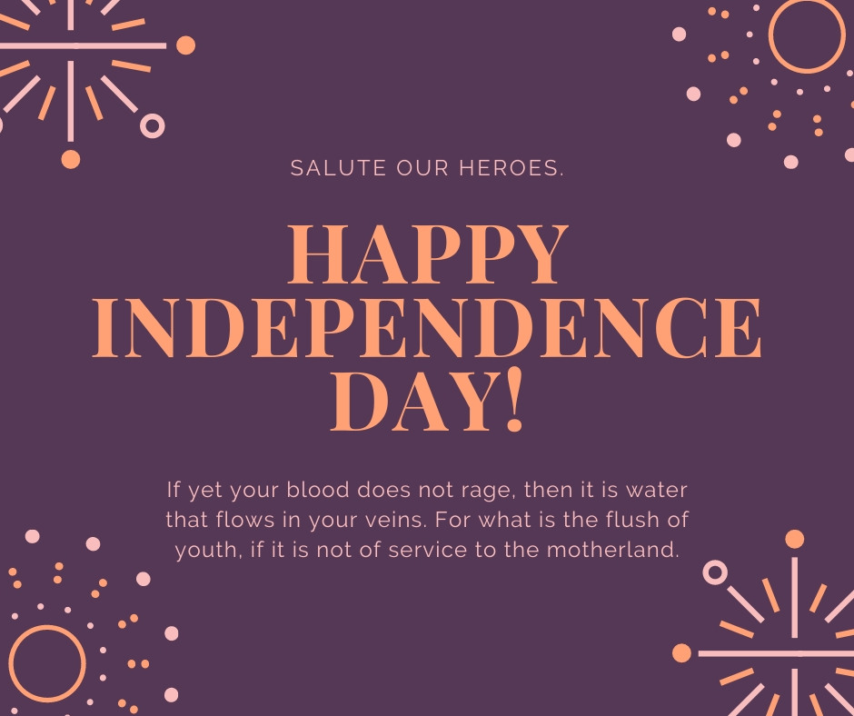independence day quotes and sayings
