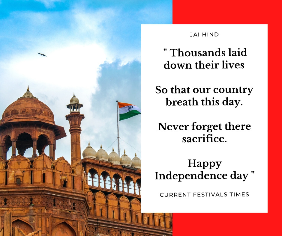 independence day year india