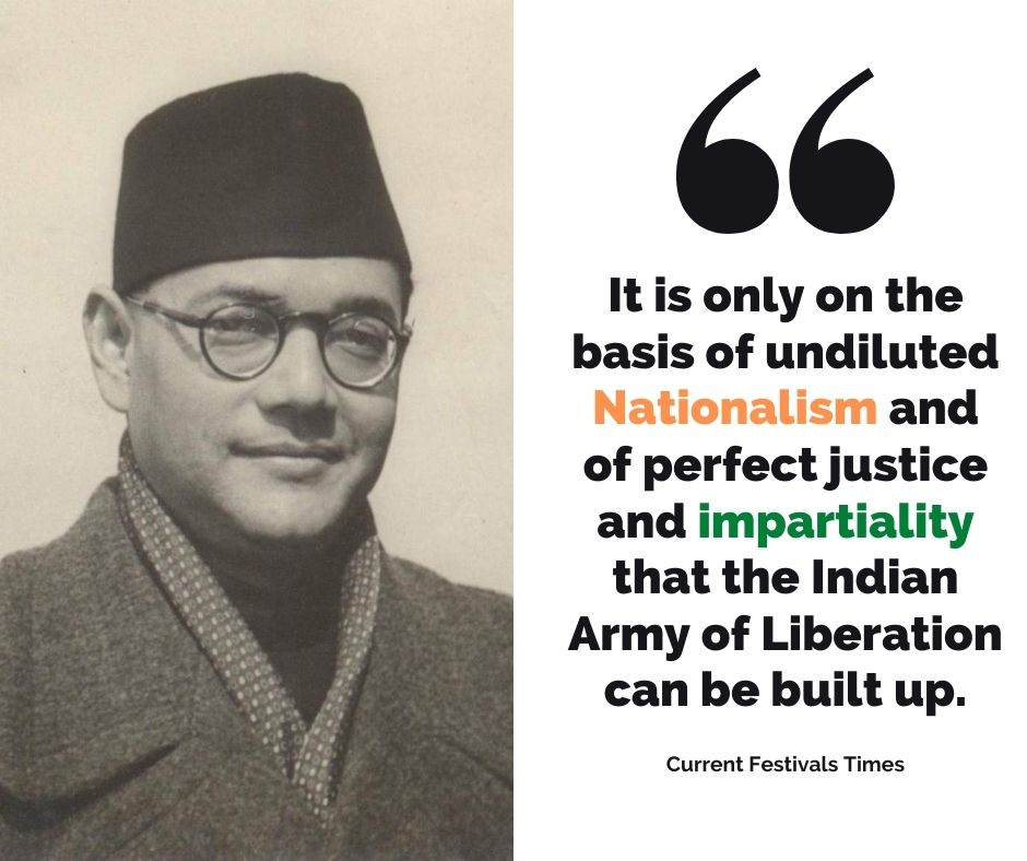 Quotes-on-Subhas-Chandra-Bose