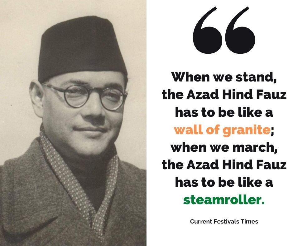 quotes by netaji subhash chandra bose