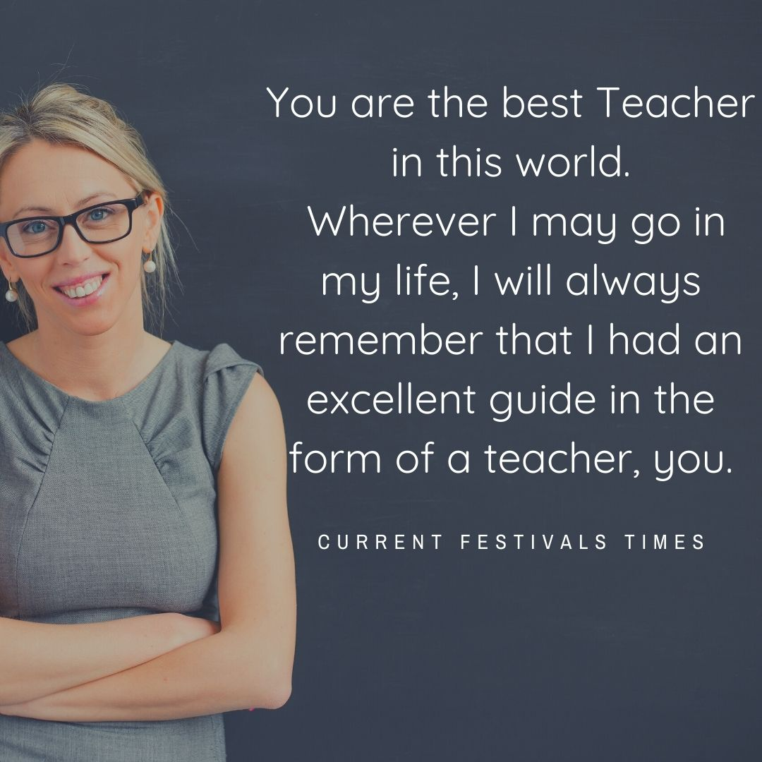 message for happy teachers day
