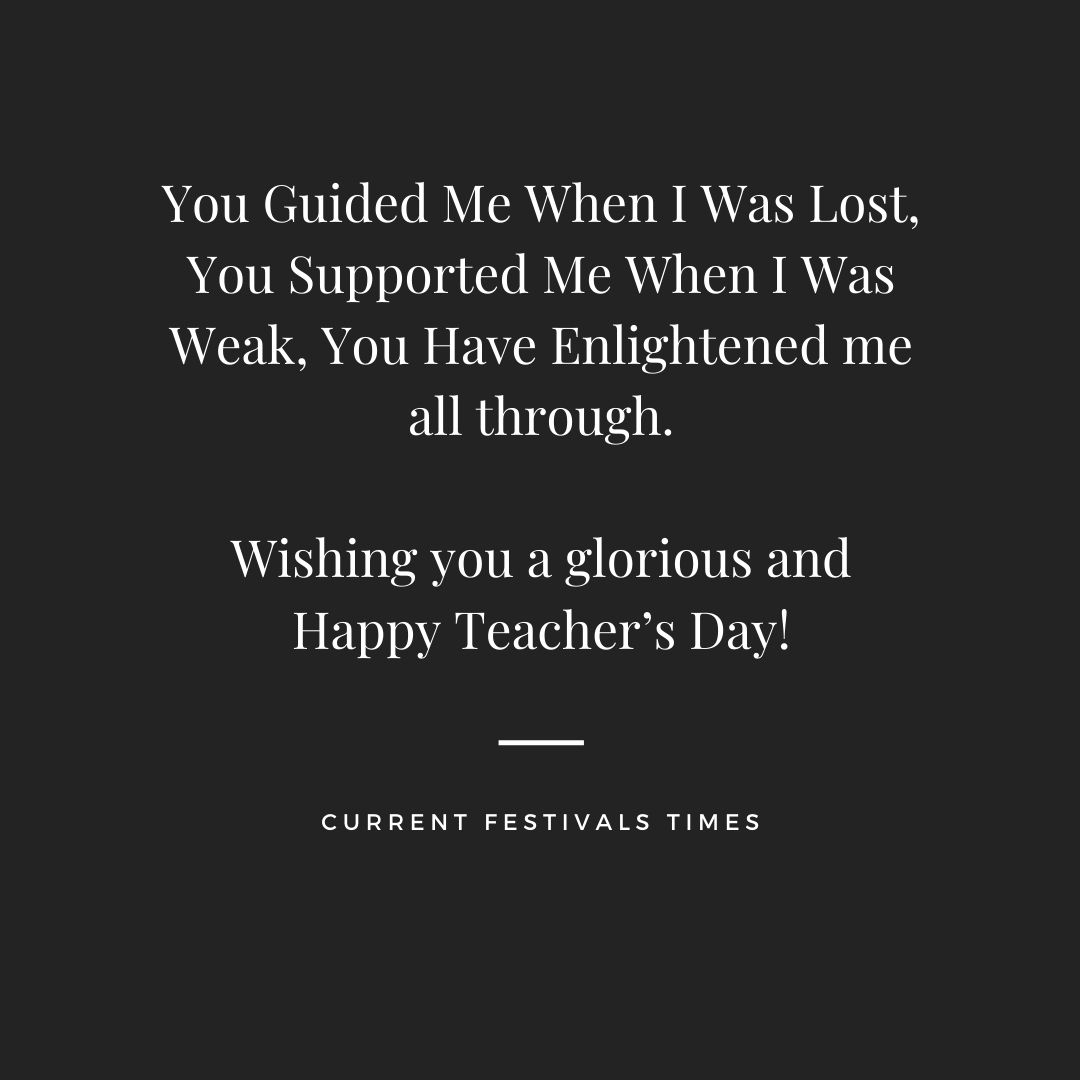 short thoughts for teachers day