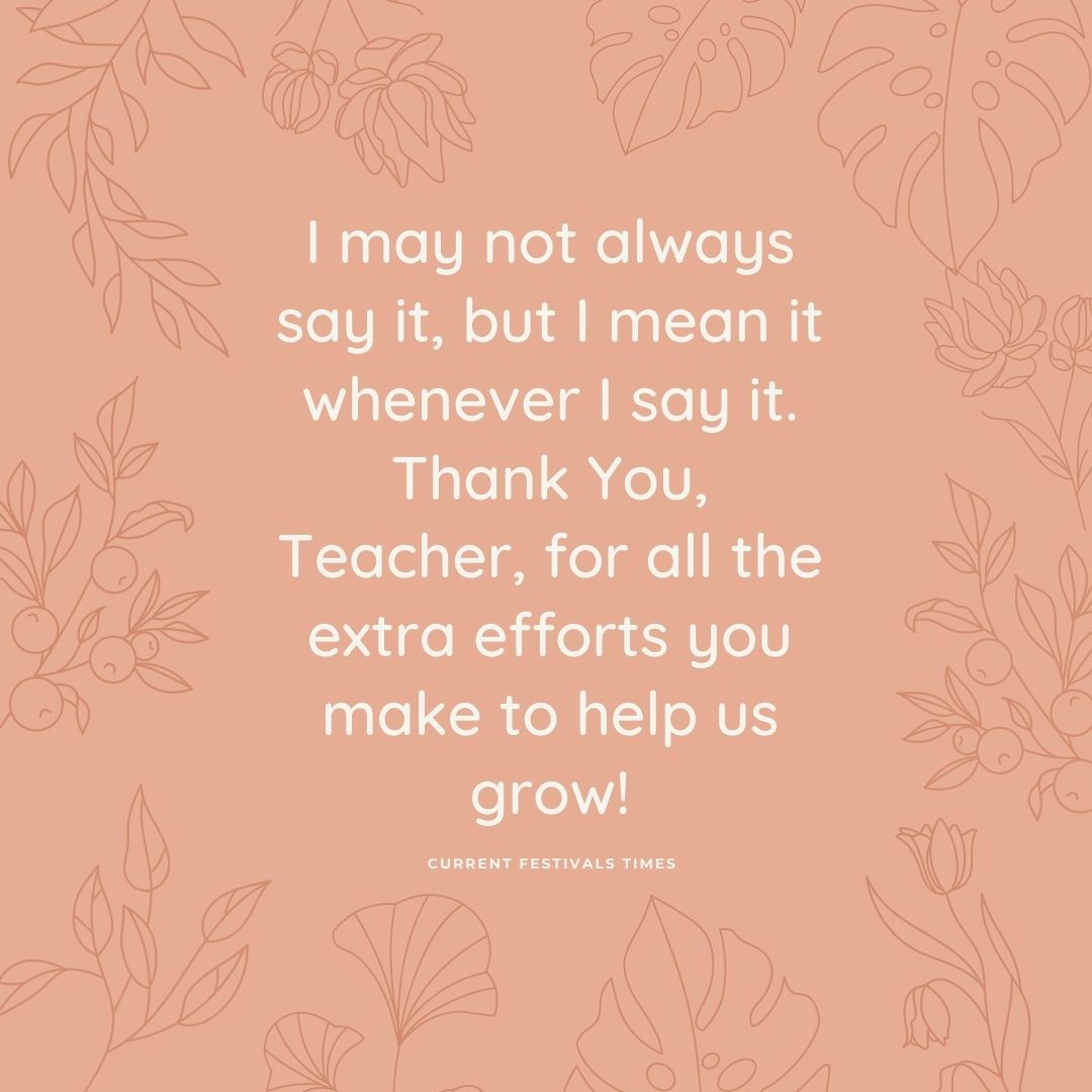 teachers day quotes english