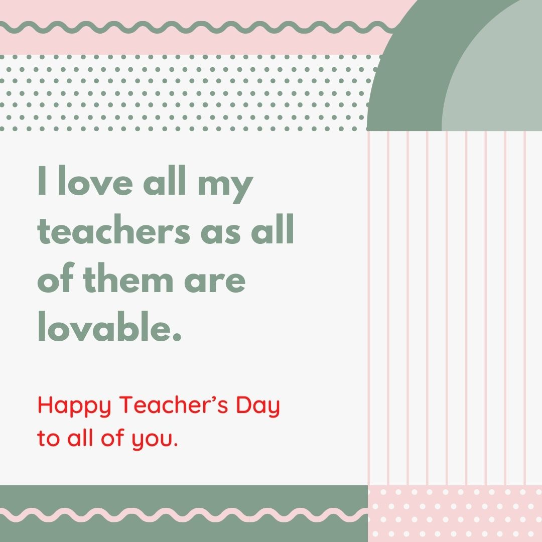 teachers day special message