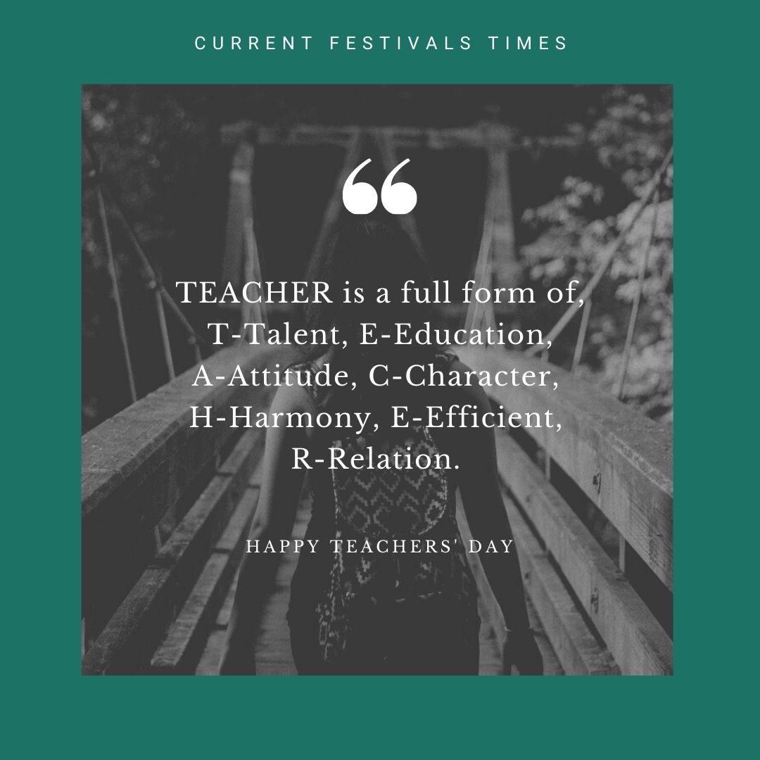 teachers day thought