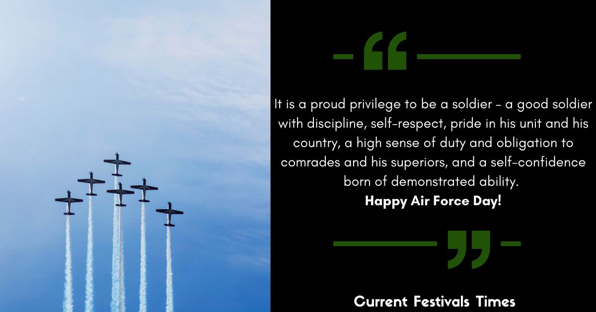 Indian Air Force Day Quotes 2020