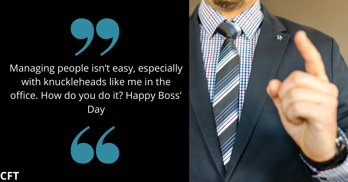 boss day messages funny