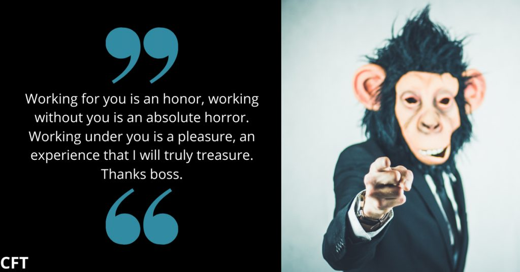 boss's day funny message