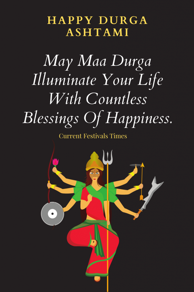 durga ashtami quotes images