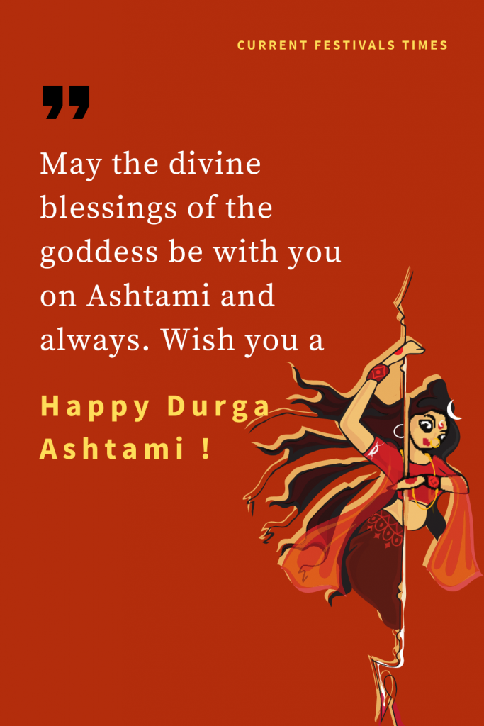 durga ashtami wishes phtoto hd