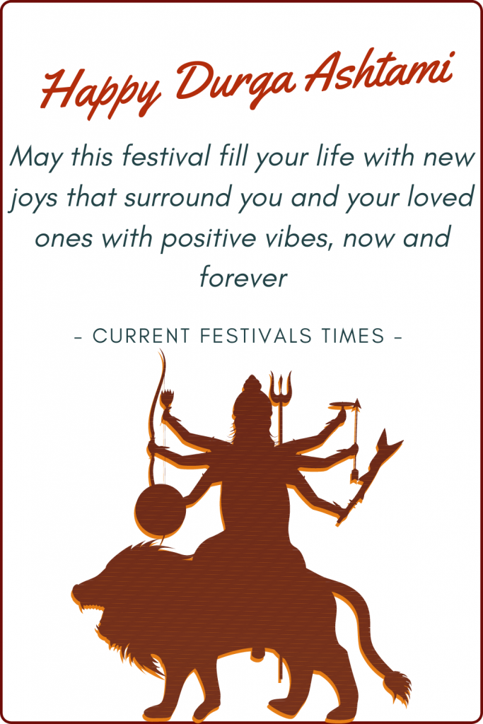 happy durga ashtami wishes images