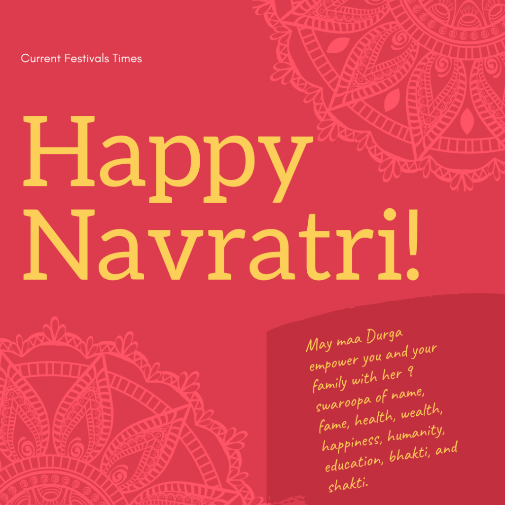 navratri best wishes images