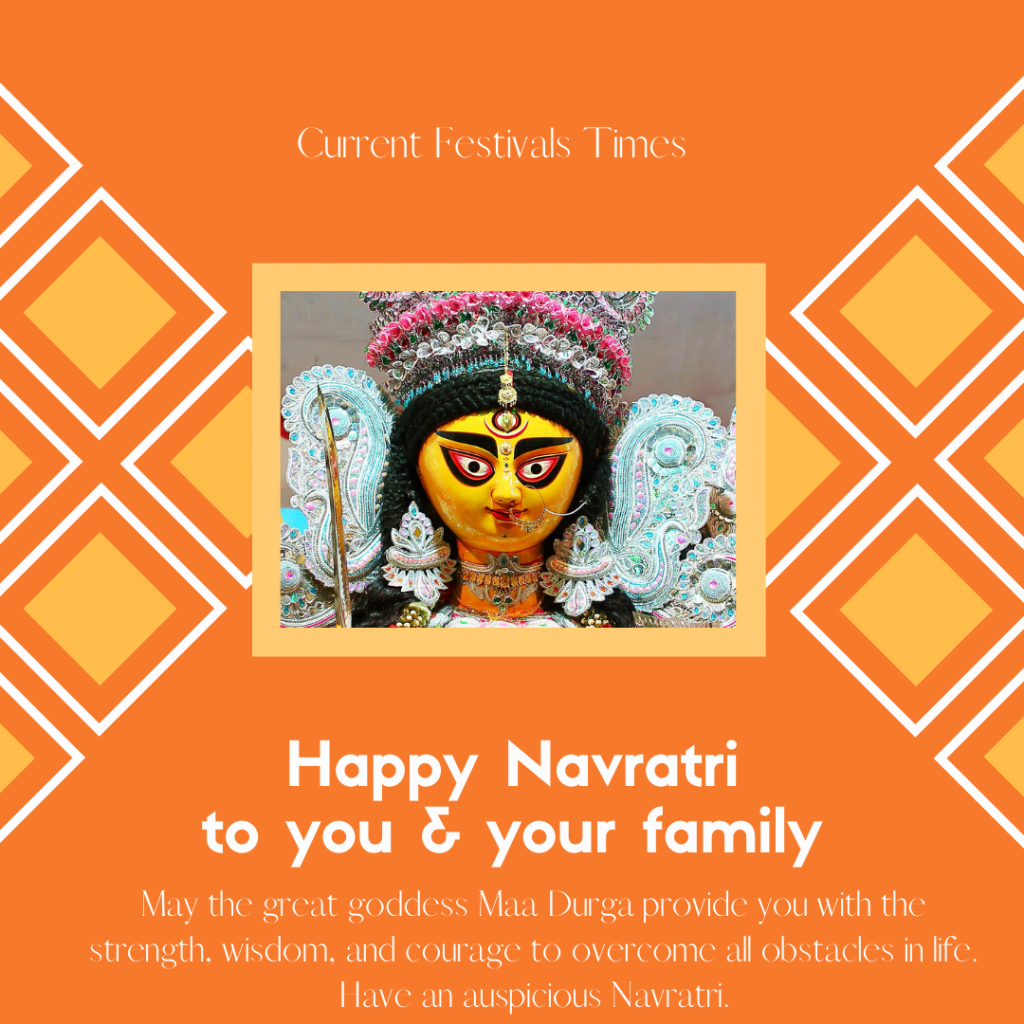 navratri captions