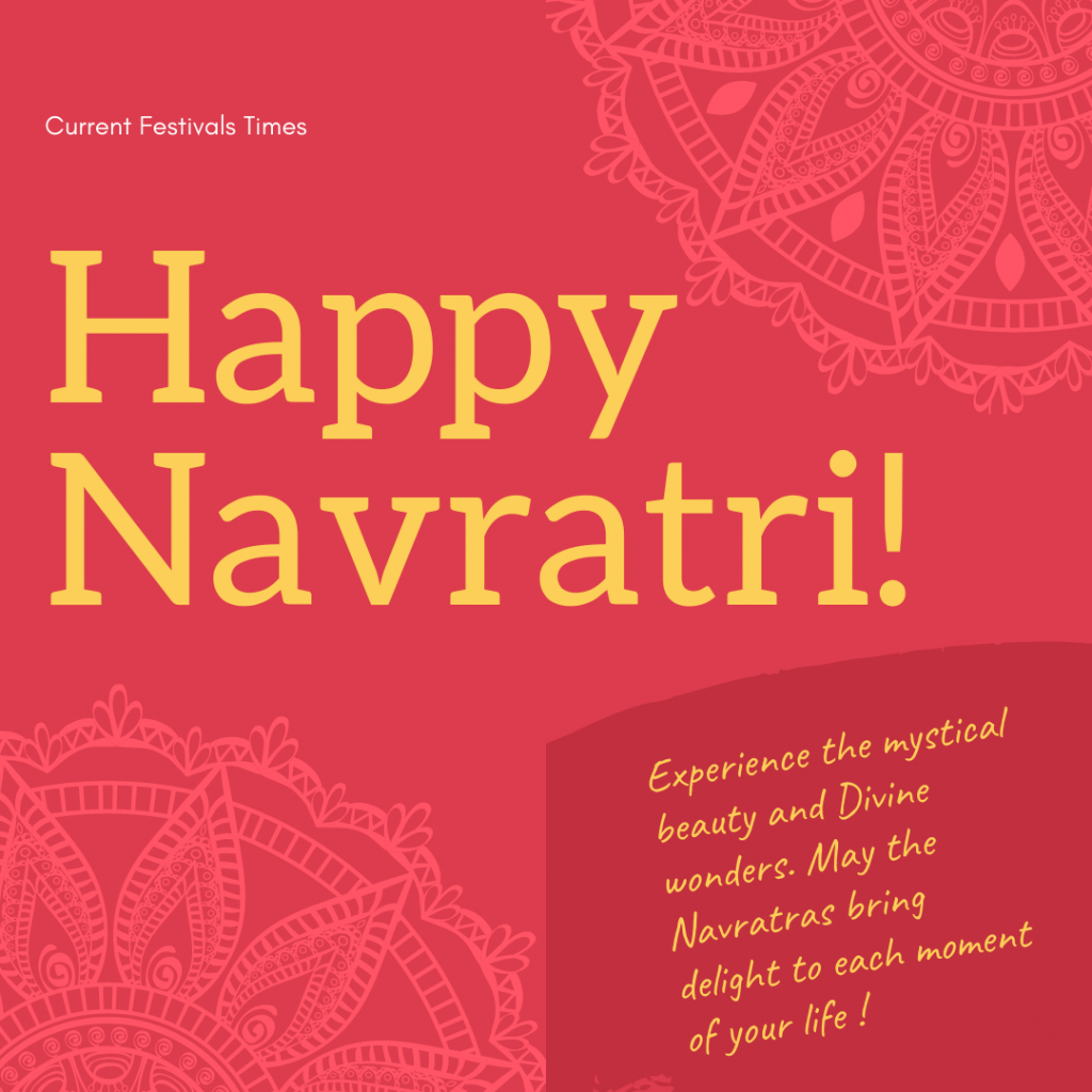 navratri wishes in english with images