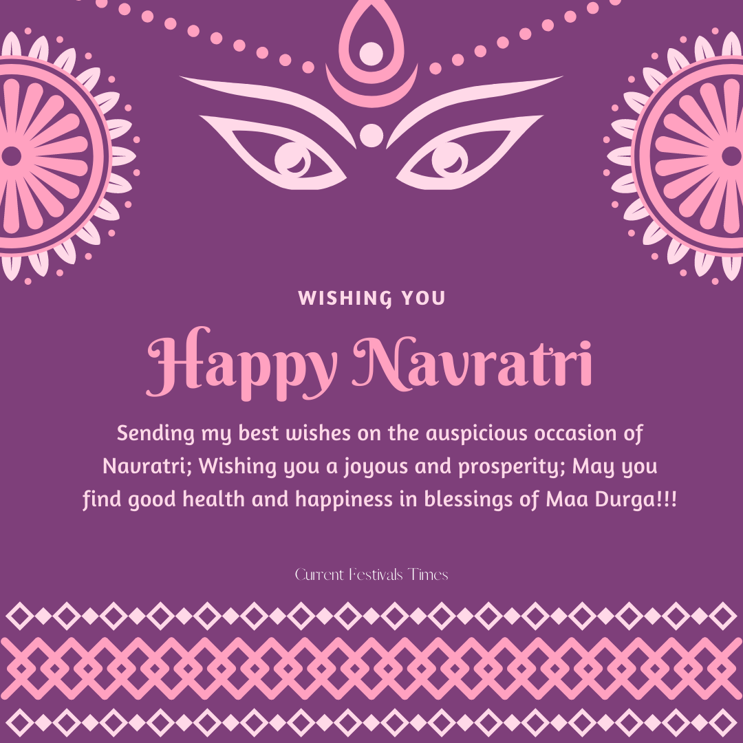 navratri wishes status 2020