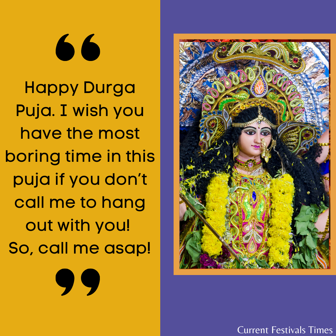 wishes for durga puja