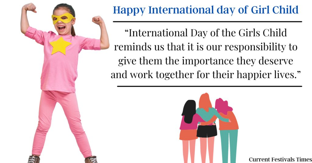 Happy International Girl Child Day Messages
